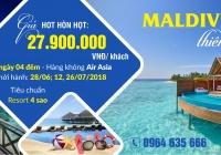 MALDIVES - THIÊN ĐƯỜNG Ở BÊN